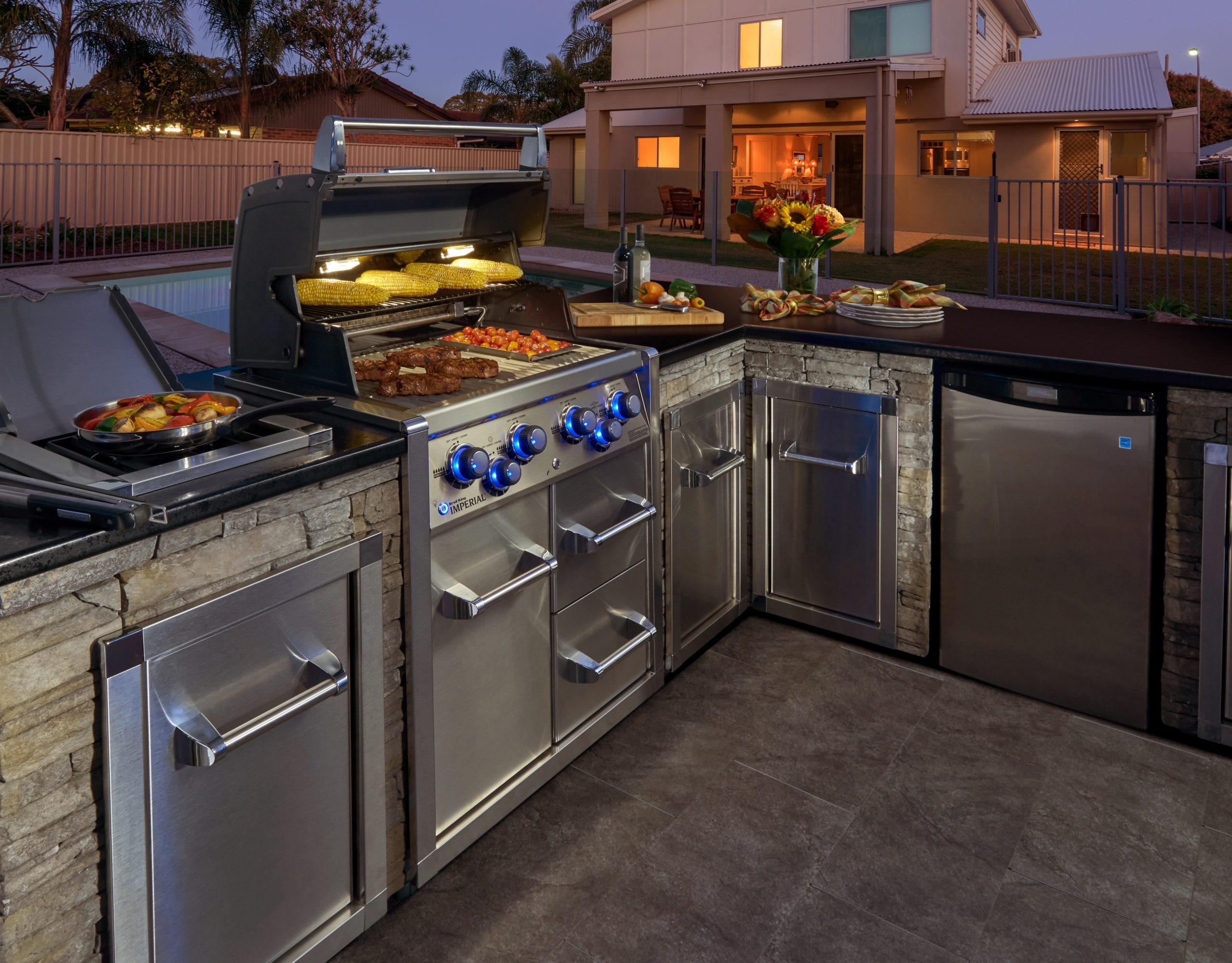 exemple de conception de cuisine Built-In